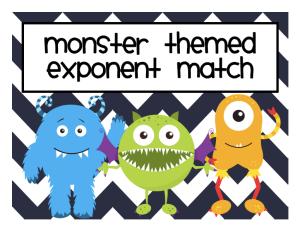 Monster Exponent Match